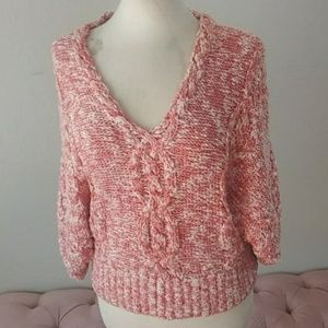 Far away from Close, cable knit sweater